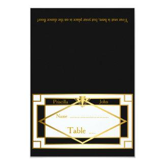 Place Card,Wedding,Meeting,Great Gatsby,whiteblack Card