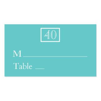 Place Cards / Name Cards - Aqua