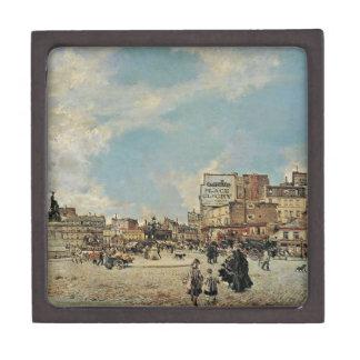 Place Clichy by Giovanni Boldini Jewelry Box