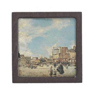 Place Clichy by Giovanni Boldini Premium Trinket Boxes