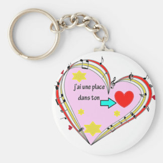 PLACE COEUR .PNG KEY CHAIN