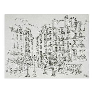 Place Dauphine, Ile de la Cite | Paris, France Postcard