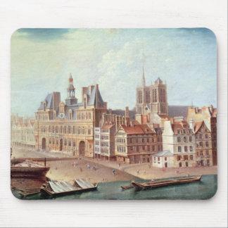 Place de Greve in 1750 Mouse Pad