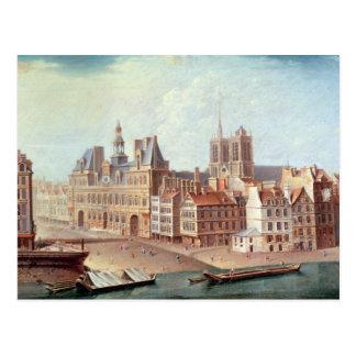 Place de Huelga en 1750 Postal