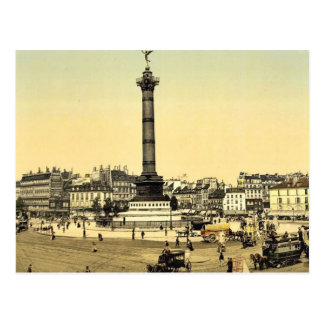 Place de la Bastille obra clásica Photoc de París Postales