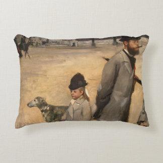 Place de la Concorde, 1875 Accent Pillow