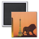 Place de la Concorde; Eiffel Tower; Obelisk; Magnets