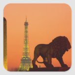 Place de la Concorde; Eiffel Tower; Obelisk; Stickers