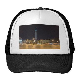Place de la concorde in Paris at night Hats