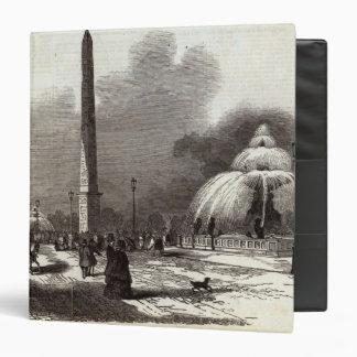 Place de la Concorde, Paris 3 Ring Binder