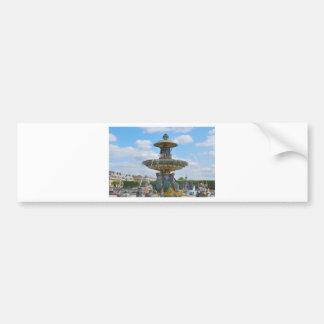 Place de la Concorde, Paris Bumper Sticker
