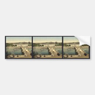 Place de la Concorde, Paris, France classic Photoc Car Bumper Sticker