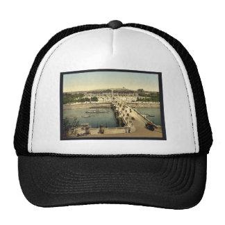 Place de la Concorde, Paris, France classic Photoc Trucker Hats