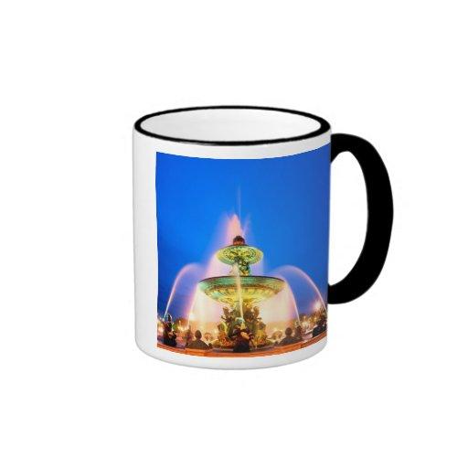 Place de la Concorde, Paris, France Ringer Coffee Mug