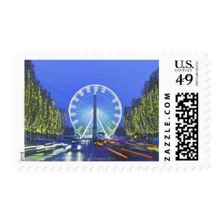 Place de la Concorde Postage Stamps