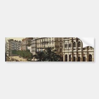 Place de la republique, Algiers, Algeria classic P Car Bumper Sticker