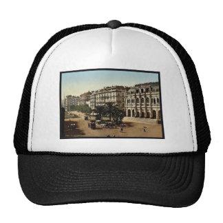 Place de la republique, Algiers, Algeria classic P Trucker Hats