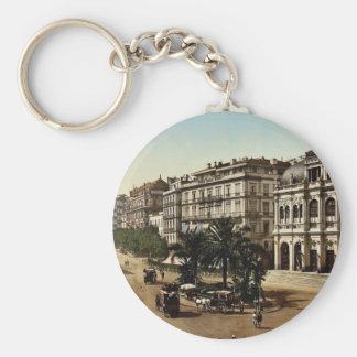 Place de la republique, Algiers, Algeria classic P Key Chains