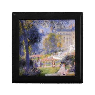 Place de la Trinite by Pierre-Auguste Renoir Gift Box