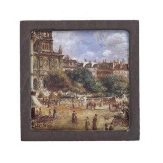 Place de la Trinite by Pierre-Auguste Renoir Jewelry Box