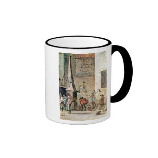 Place de l'Apport-Paris in Front of Grand Coffee Mugs