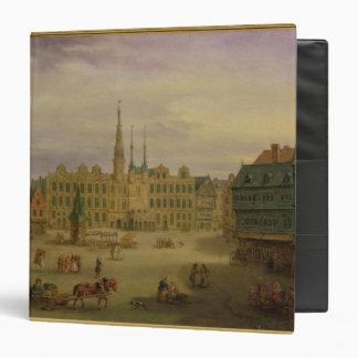 Place de L'Hotel de Ville, Cambrai, c.1780 Binders