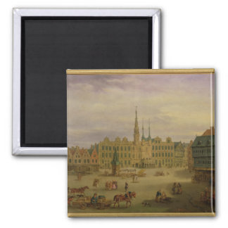Place de L'Hotel de Ville, Cambrai, c.1780 Magnet