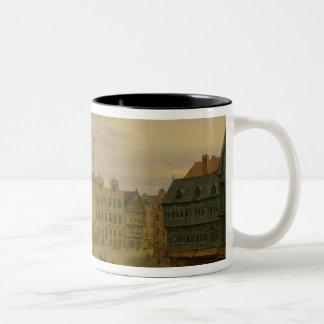 Place de L'Hotel de Ville, Cambrai, c.1780 Taza De Dos Tonos