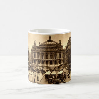 Place de l'Opera, Paris France c1925 Vintage Coffee Mug