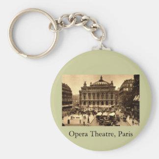 Place de l'Opera, Paris France c1925 Vintage Keychain