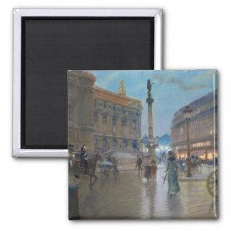 Place de L'Opera, Paris Magnets
