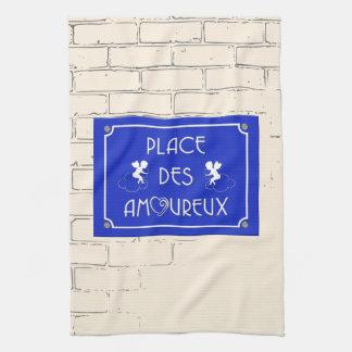 Place des Amoureux Hand Towel