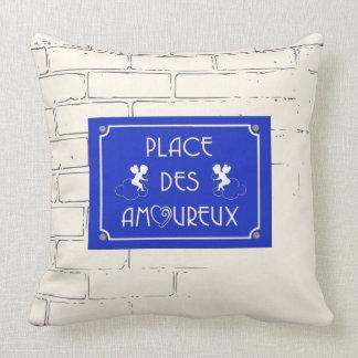Place des Amoureux Pillow