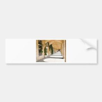 Place des Vosges in Paris, France Bumper Sticker