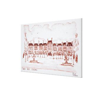 Place des Vosges | Marais, Paris Canvas Print