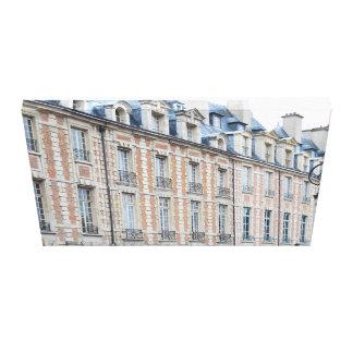 place des vosges Paris WRAPPED CANVAS