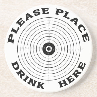 Place Drink Here Drink Coaster