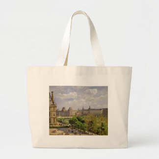 Place du Carrousel, the Tuileries Gardens Large Tote Bag