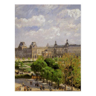 Place du Carrousel, the Tuileries Gardens Postcard