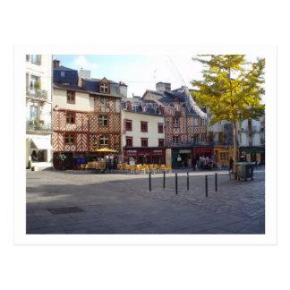 Place du Champ Jacquet Postcard