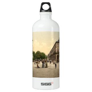 Place du Quartier Neff, Mulhouse, France Aluminum Water Bottle