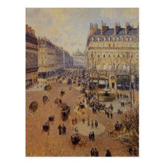 Place du Theatre Francais, Afternoon Sun in Winter Postcard