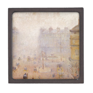 Place du Theatre Francais, Foggy Weather by Camill Keepsake Box