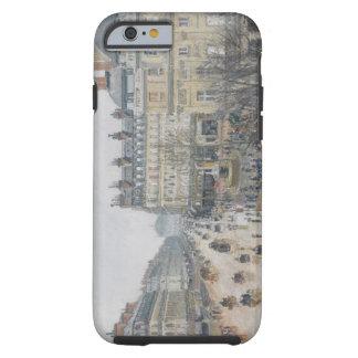 Place du Theatre Francais, París: Lluvia, 1898 Funda De iPhone 6 Tough