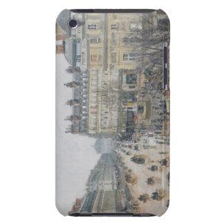 Place du Theatre Francais, París: Lluvia, 1898 iPod Touch Case-Mate Cárcasa