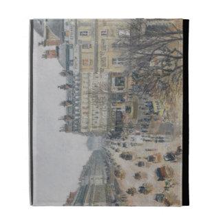 Place du Theatre Francais, París: Lluvia, 1898