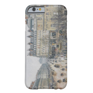 Place du Theatre Francais, París: Lluvia, 1898 Funda Barely There iPhone 6