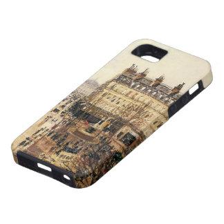 Place du Theatre Francais, París: Lluvia por iPhone 5 Carcasas