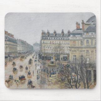 Place du Theatre Francais, Paris: Rain, 1898 Mouse Pad