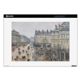 Place du Theatre Francais, Paris: Rain, 1898 Laptop Decal